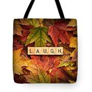 Laugh-autumn Tote Bag