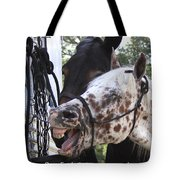 Laughing Horse Tote Bag