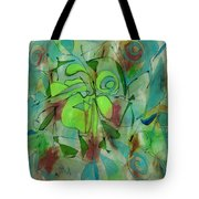 Laughing Lotus Tote Bag