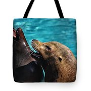 Laughing Seals Tote Bag