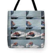 Launching The Lifeboat Tote Bag