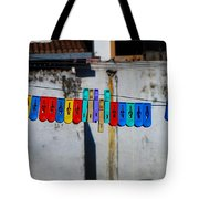 Laundry Clips Tote Bag