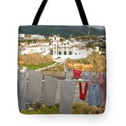 Laundry Day In Azores Tote Bag