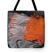 Lava Bursting At Edge Of Active Lava Tote Bag