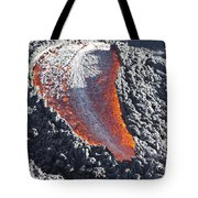 Lava Flow On The Flank Of Pacaya Tote Bag