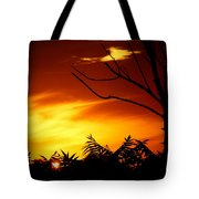 Lava Skies Tote Bag