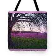 Lavander Morning Tote Bag