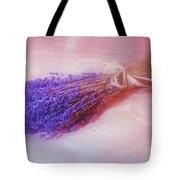 Lavender - Lace - And Memories Tote Bag