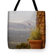 Lavender And Rock Tote Bag