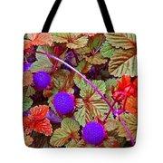 Lavender Berry Tote Bag