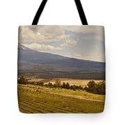 Lavender Farm Panorama Tote Bag