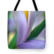 Lavender Iris Tote Bag by Kathy Yates