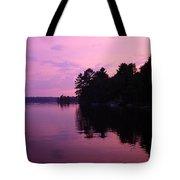 Lavender Lake Tote Bag