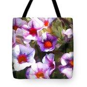 Lavender Million Bells Flowers Tote Bag