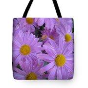 Lavender Mum Bouquets Tote Bag