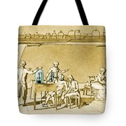 Lavoisier Experimenting Tote Bag