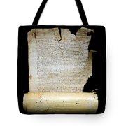 Lawsuit Of The Cathedral Chapter Of Calahorra. Pleito Del Cabildo Catedralicio De Calahorra Tote Bag
