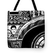 Le Car In Black And White Tote Bag