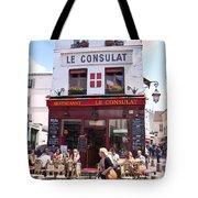 Le Consulat Cafe  Tote Bag