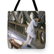 Le Pont De L'europe Tote Bag