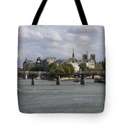 Le Pont Des Arts. Paris. France Tote Bag