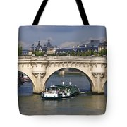 Le Pont Neuf . Paris. Tote Bag