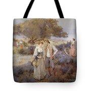Le Retour De Cythere Tote Bag by William Lee