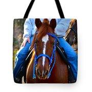 Lead Horse Tote Bag