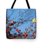 Leaf Among Thorns Tote Bag