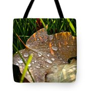 Leaf Beads Tote Bag
