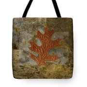 Leaf Life 01 -brown 01b2 Tote Bag by Variance Collections