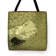 Leaf Mytallique Tote Bag
