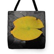 Leaf On A Pond II Tote Bag