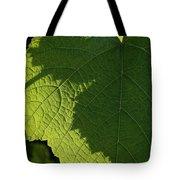 Leaf Shadow Tote Bag