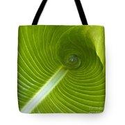 Leaf Tube Tote Bag
