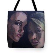 Leah And Tiffany Tote Bag