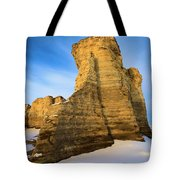 Learn Tower Of Monument Rocks Tote Bag