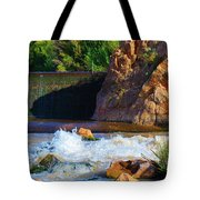 Leasburg Dam New Mexico Tote Bag