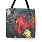 Leave The Leaves Tote Bag