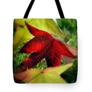 Leaves Of Grass Tote Bag