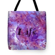 Leaves Of Life Tote Bag