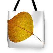 Leaves Ten  Tote Bag