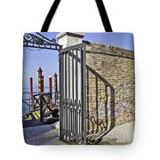 Leaving Tote Bag