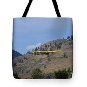 Leaving Midway  Tote Bag