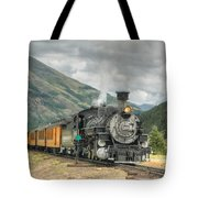 Leaving Now Tote Bag