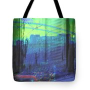 Leaving The Country For The City Tote Bag