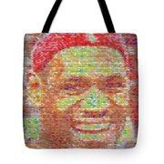 Lebron James Pez Candy Mosaic Tote Bag