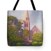 Leckie Memorial  Church  Peebles Scotland Tote Bag