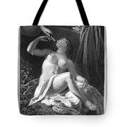 Leda And The Swan Tote Bag