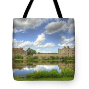 Leeds Castle Reflected Tote Bag